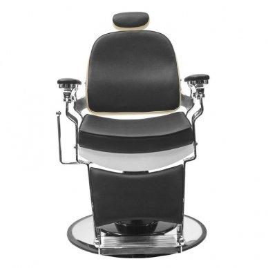 Barberio krėslas GABBIANO FREDERICO, juodos-baltos sp. 4