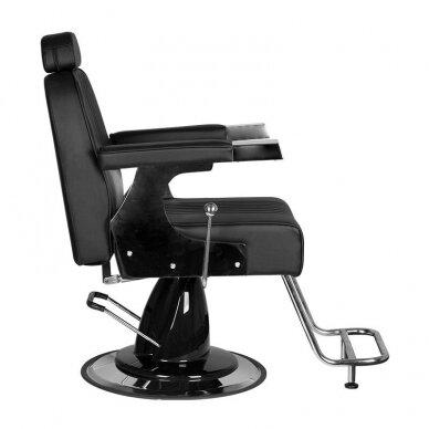 Barberio krėslas GABBIANO GINO, juodos sp. 5
