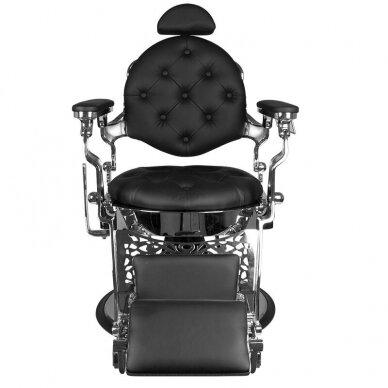 Barberio krėslas GABBIANO GIULIO, juodos/sidabro sp. 4