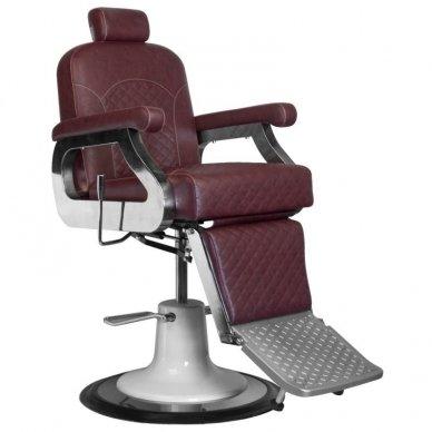Barberio krėslas GABBIANO MARCO, bordo sp. 2