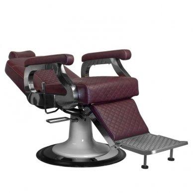 Barberio krėslas GABBIANO MARCO, bordo sp. 3