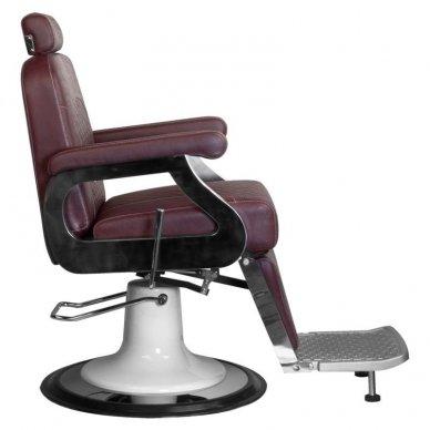 Barberio krėslas GABBIANO MARCO, bordo sp. 4
