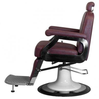Barberio krėslas GABBIANO MARCO, bordo sp. 6