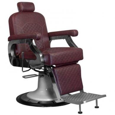 Barberio krėslas GABBIANO MARCO, bordo sp.