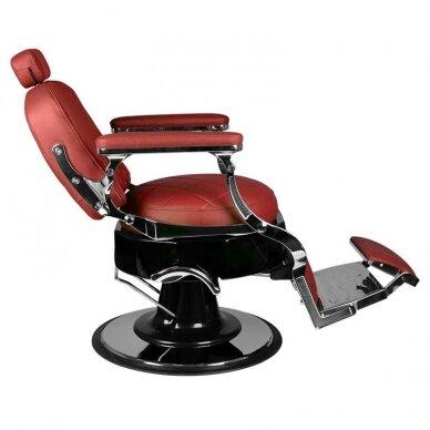 Barberio krėslas GABBIANO VITO, raudonos sp. 5