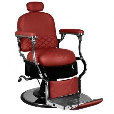 Barberio krėslas GABBIANO VITO, raudonos sp. 2