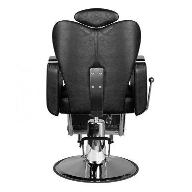 Barberio krėslas HAIR SYSTEM SM107, juodos sp. 5