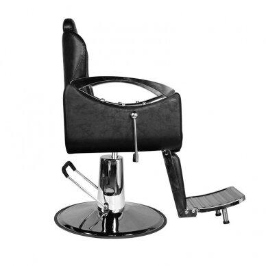 Barberio krėslas HAIR SYSTEM SM107, juodos sp. 6