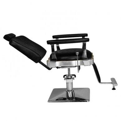 Barberio krėslas HAIR SYSTEM  SM180, juodos sp. 3