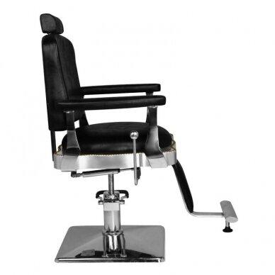 Barberio krėslas HAIR SYSTEM  SM180, juodos sp. 4