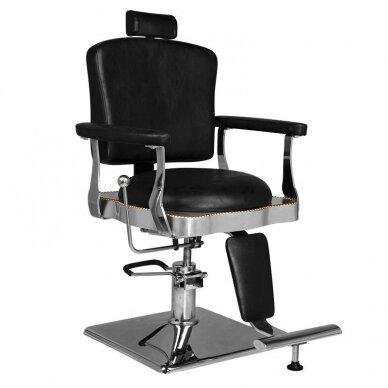 Barberio krėslas HAIR SYSTEM  SM180, juodos sp.