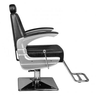 Barberio krėslas HAIR SYSTEM SM182, juodos sp. 3