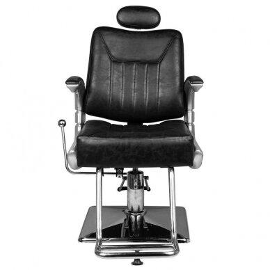 Barberio krėslas HAIR SYSTEM SM182, juodos sp. 4