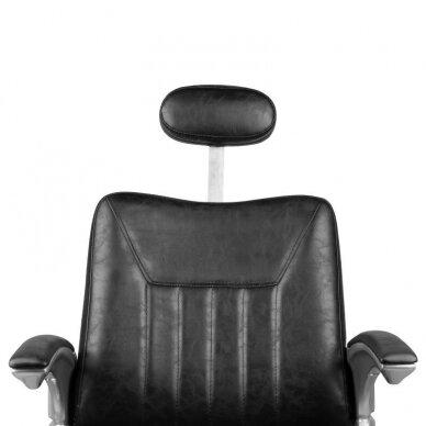 Barberio krėslas HAIR SYSTEM SM182, juodos sp. 6