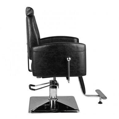 Barberio krėslas HAIR SYSTEM SM184, juodos sp. 2