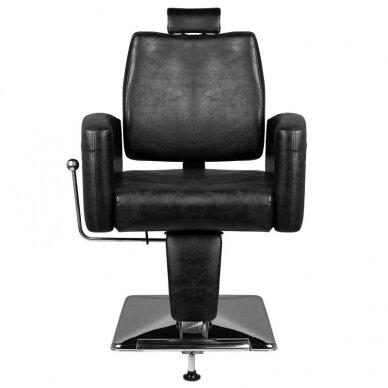 Barberio krėslas HAIR SYSTEM SM184, juodos sp. 3