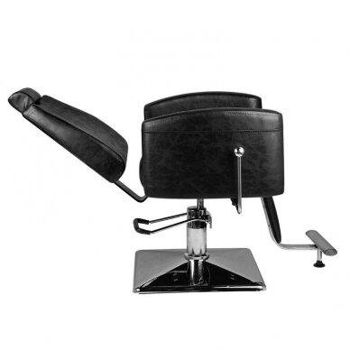 Barberio krėslas HAIR SYSTEM SM184, juodos sp. 4