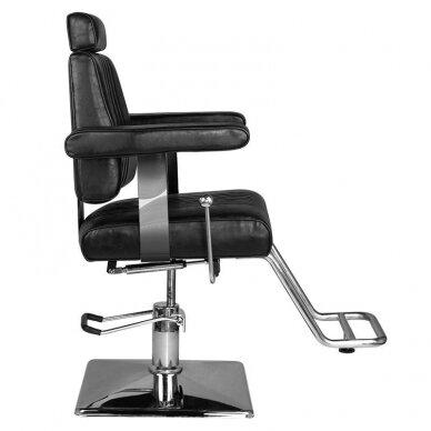 Barberio krėslas HAIR SYSTEM SM185, juodos sp. 3