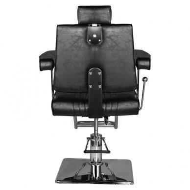 Barberio krėslas HAIR SYSTEM SM185, juodos sp. 4