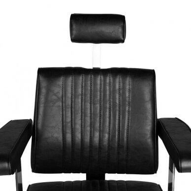 Barberio krėslas HAIR SYSTEM SM185, juodos sp. 5
