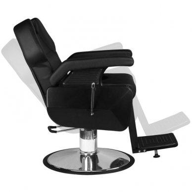 Barberio krėslas NEW YORK, juodos sp. 6
