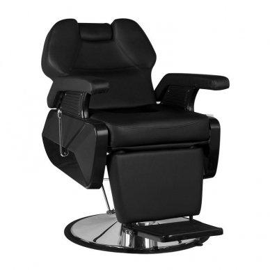 Barberio krėslas NEW YORK, juodos sp.