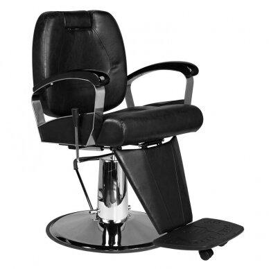Barberio krėslas SM101, juodos sp.