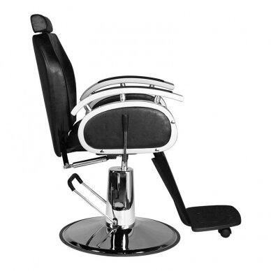 Barberio krėslas SM106, juodos sp. 3