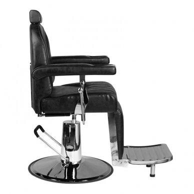 Barberio krėslas SM138, juodos sp. 2