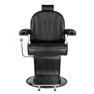 Barberio krėslas SM138, juodos sp. 4