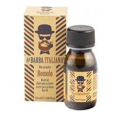 Barzdos plaukų aliejus Barba Italiana Beard Oil Romolo, 50 ml
