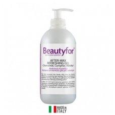 Beautyfor gaivinantis gelis po depiliacijos su ramunėlių, kamparo ir mentolio ekstraktu, 500ml