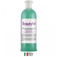 Beautyfor gelis prieš depiliacija su mėtom ir mentoliu, 500ml