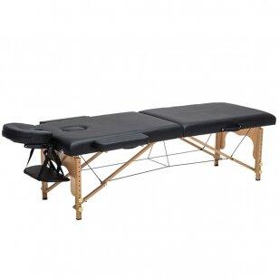 Beautyfor masažo stalas, juodos sp.