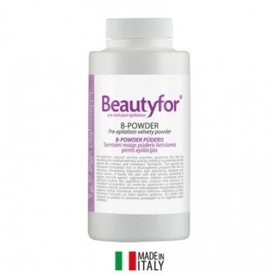 Beautyfor B-POWDER pudra prieš depiliacija, 150gr