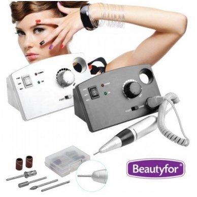 Beautyfor manikiūro aparatas, baltos sp.