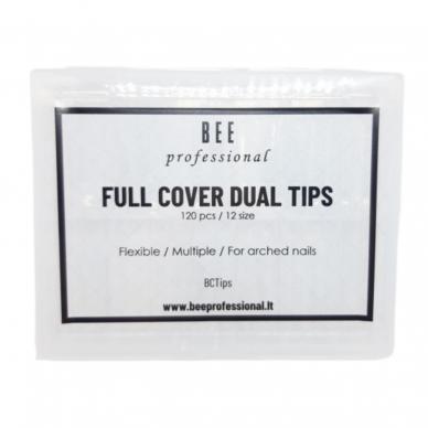 Bee Professional Full Cover Dual Tips/ Pilno dengimo viršutinės formelės