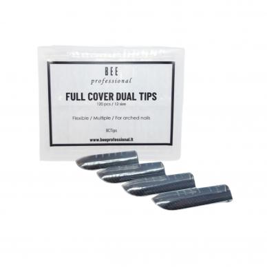 Bee Professional Full Cover Dual Tips/ Pilno dengimo viršutinės formelės 2