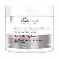 Bielenda Peel-Off alginatinė veido kaukė akių sričiai su rožių žiedlapiais, 90g