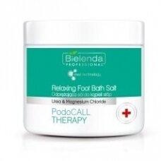 Bielenda PodoCall Therapy atpalaiduojanti pėdų druska,  500g