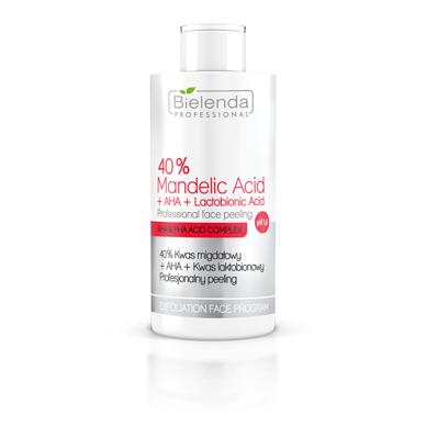 BIELENDA 40% migdolų rūgštis + AHA + laktobioninė rūgštis -  pH 1.6, 150g