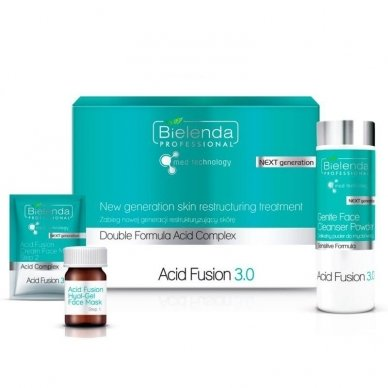 BIELENDA Acid Fusion 3.0 - naujos kartos odą atkurianti procedūra, rinkinys 5 procedūroms