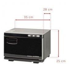 Rankšluosčių šildytuvas su sterilizatoriumi UV-C SMALL, juodos sp.