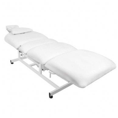 Elektrinis masažo stalas - lova AZZURRO 693A, 1 variklis, baltos sp. 5
