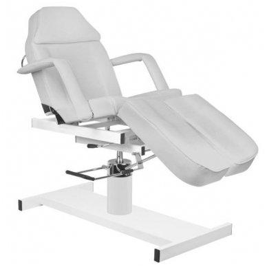 Hidraulinis pedikiūro ir kosmetologijos krėslas A 210C PEDI, pilkos sp. 7