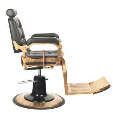 Barberio krėslas BOSS, juodos sp. 4
