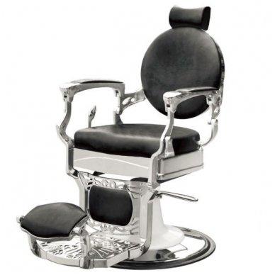 Barber krėslas PRESIDENT, juodos sp. 2