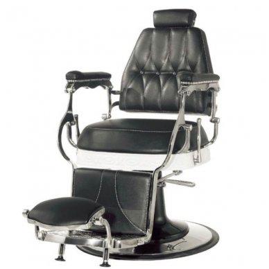 Barber kirpėjo krėslas LORD, juodos sp. 3