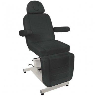 Kosmetologinis elektrinis krėslas-lova AZZURRO 705, juodos sp. 2