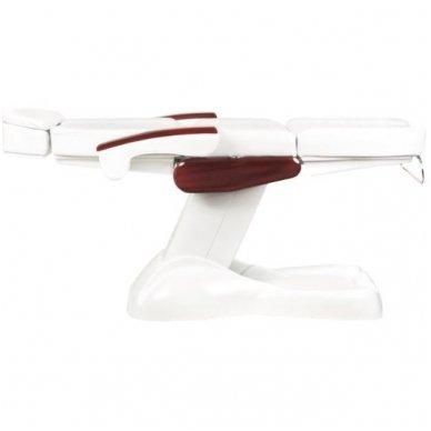 Elektrinis kosmetologinis krėslas LUX, baltos sp. 4